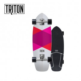 "CARVER SKATEBOARD TRITON RED DIAMOND 29"" CX"