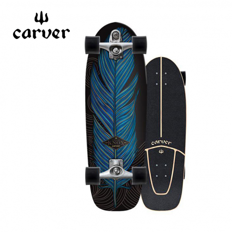 """skateboard CARVER 31,25"""" KNOX QUILL"""