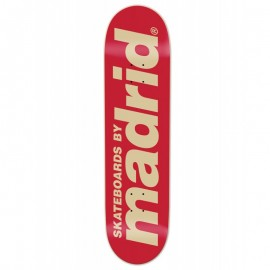 "MADRID CLASSIC LOGO RED 8.25"" DECK"