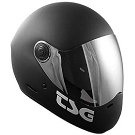 Casque PASS SOLID COLOR matt noir (+ bonus visor)