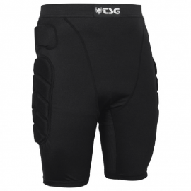 SHORT CRASH PANT ALL TERRAIN NOIR