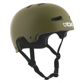 CASQUE EVOLUTION SOLID COLOR SATIN OLIVE