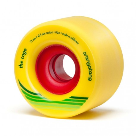 ORANGATANG ROUES THE CAGE 73MM 86A YELLOW