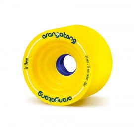 ORANGATANG ROUES IN HEAT 75MM 86A YELLOW