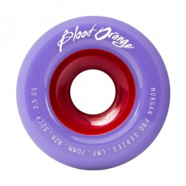 BLOOD ORANGE ROUES LIAM MORGAN PRO SERIES PASTEL 70MM 82A