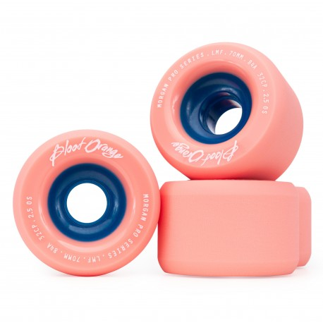 BLOOD ORANGE ROUES LIAM MORGAN PRO SERIES CORAIL 70MM 84A